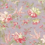 Moda Whitewashed Cottage by 3 Sisters - 3732 - Heather Large Floral - 44061 13 - Cotton Fabric